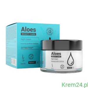 Krem aloesowy na noc Beauty Care Aloes Night Cream DuoLife