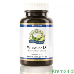 Witamina D3 Natures Sunshine